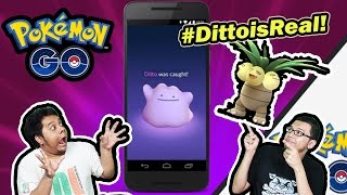 getlinkyoutube.com-HUNTING DITTO MALAH DAPET EXEGGUTOR! - Pokemon Go Ditto Hunt Day 1!