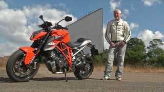 KTM Superduke 1290 Test
