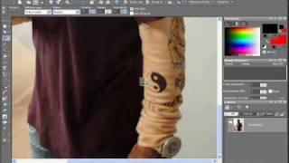 getlinkyoutube.com-Corel Paint Shop Pro X2 Tutorial Changing Shirt Color