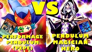 getlinkyoutube.com-Real Life Yugioh - PERFORMAGE PENDULUM PEPE vs PENDULUM MAGICIAN HERO November 2015 Format Friendly
