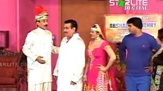 getlinkyoutube.com-New Thakur and Nasir Chinyuti Pakistani Stage Drama Full Comedy Funny Play