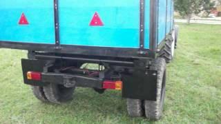 getlinkyoutube.com-Саморобний причіп до трактора МТЗ 82