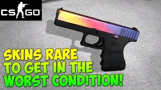 getlinkyoutube.com-CS GO - Skins Rare to Get In The Worst Condition & Why!