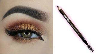 Easy EYEBROW TUTORIAL For Beginners Using Pencil || Best Eyebrow Pencil