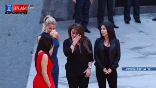 getlinkyoutube.com-Kim Kardashian remembered victims of Armenian genocide - Yerevan, Armenia April 10, 2015