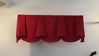 getlinkyoutube.com-How to make scalloped valance with bells (part 1)