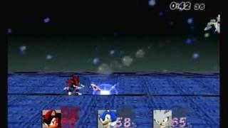 getlinkyoutube.com-SSBB: Sonic Vs. Shadow Vs. Silver