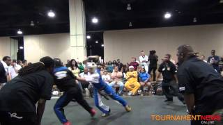 Larry Tankson Jr. Vs Ross Levine at U.S. Capitol Classics 2012
