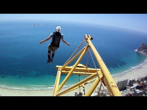 Crazy Crane, Hotel & Elevator BASE Jumps | BASE Tripping | Ep 2