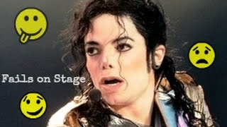 getlinkyoutube.com-Michael Jackson #1 Stage Fails | Funny - Angry - Bloopers - Awkward [Rare Footage Collection]