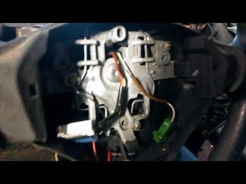 Как снять руль пежо 207 AIR bag Peugeot 206