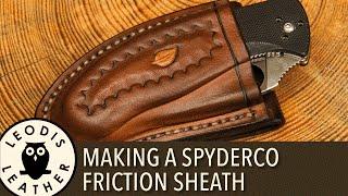 getlinkyoutube.com-Making a Spyderco Friction Sheath (75 minutes, HD)