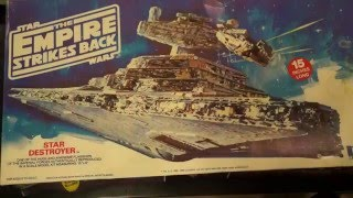 getlinkyoutube.com-Out of box review:  AMT Star Destroyer with Arvery models upgrades
