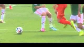 El Clavado de Robben y del árbitro: Mexico vs Holanda / Penal Injustamente Marcado /  Copa Mundial Brasil 2014