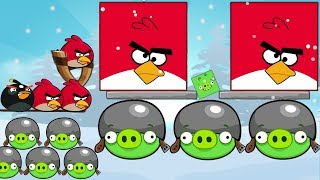 getlinkyoutube.com-Angry Birds Online Games - Episode Kick Out Green Pigs Levels 1-12 - Rovio Games