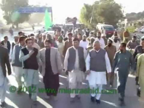 Mian Rashid Ali Shah Speech At Dhobi Ghat Nowshera Cantt part 1