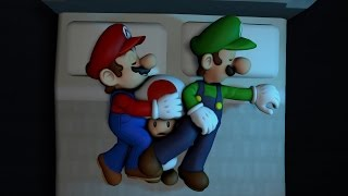 getlinkyoutube.com-Mario & Luigi Sleepover