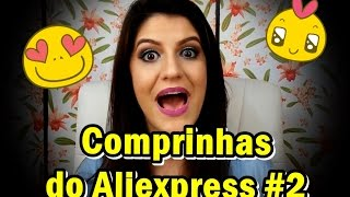 getlinkyoutube.com-Comprinhas do Aliexpress #2