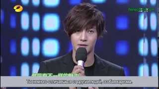 getlinkyoutube.com-20121117 Ким Хён Чжун на шоу Happy Camp (рус. суб)