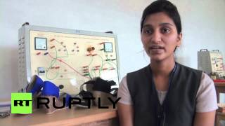 India: Students unveil electric