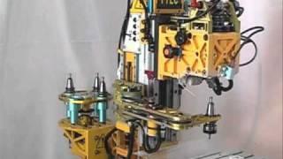 getlinkyoutube.com-日本初 趣味の自作マシニングセンタ完成 (ATC付CNC) 切削試験編