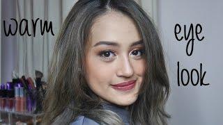Warm Orange Makeup Morphe 350 Tutorial | Nadya Aqilla