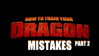 getlinkyoutube.com-Mistakes of HOW TO TRAIN YOUR DRAGON PART 2 You Didn't Notice These Facts