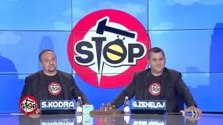 """Stop - Mberrin flota e eskavatoreve, reagimi i OSHEE-se per """"Stop""""! (08 shkurt 2017)"""