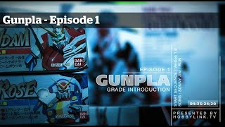 getlinkyoutube.com-Gunpla - Episode 1 - Gundam - Building - Tutorials