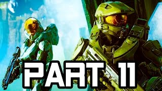 getlinkyoutube.com-Halo 5 Gameplay Walkthrough Part 11 - FORERUNNER JUNGLE - Mission 7!! (Halo 5 Guardians Gameplay)