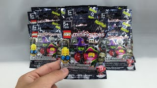 getlinkyoutube.com-LEGO Minifigures Series 14 - 18 pack opening!