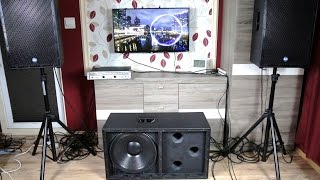 getlinkyoutube.com-How To Build 18-inch PA subwoofer + sound & bass excursion test