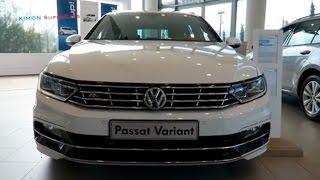 getlinkyoutube.com-NEW 2016 Volkswagen Passat Variant - Exterior & Interior