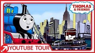 getlinkyoutube.com-Thomas Goes to New York! | Thomas' Tour | Thomas & Friends