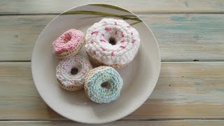 getlinkyoutube.com-(crochet) How To Crochet a Mini Doughnut - Yarn Scrap Friday