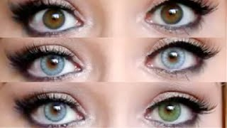 getlinkyoutube.com-Desio Contact lenses for Dark eyes  | AllyBabe