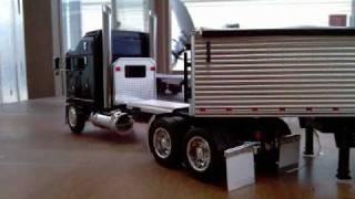 getlinkyoutube.com-1:32 scale custom trucks project #33 kenworth k100 aerodyne