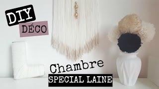 getlinkyoutube.com-4 DIY DÉCO CHAMBRE OU BUREAU (SPECIAL LAINE) / Office Room Decoration