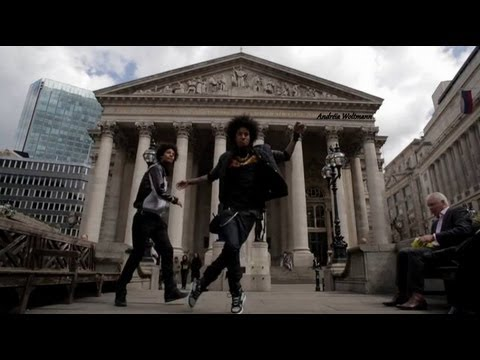 Les Twins in London w/ YAKfilms