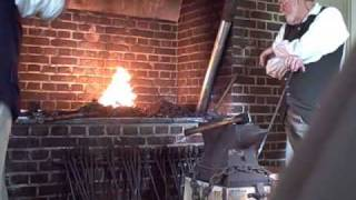 getlinkyoutube.com-GUNSMITH + FOUNDRY COLONIAL WILLIAMSBURG  5/2010