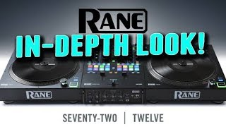 THOROUGH! Rane 72 and Twelve Mixer and Turntable Controller Walkthrough width=