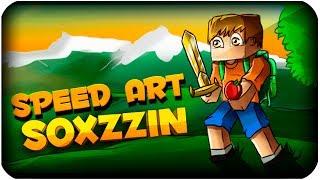 getlinkyoutube.com-Speed art - Sox Banner