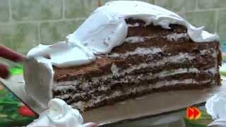 getlinkyoutube.com-видеоурок: торт машинка