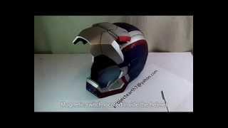 pRoJectEarth7 Motorized Iron Patriot Helmet