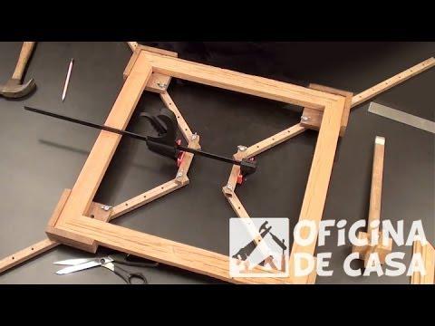 Jig para montagem de molduras