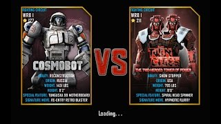 getlinkyoutube.com-Real Steel FINAL WRB I Cosmobot VS Twin Cities (champion) NEW UPDATE (Живая Сталь)