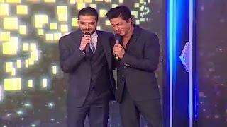 getlinkyoutube.com-Telebrations: When SRK met Karan Patel and called it his highest point of the evening