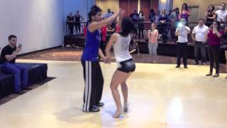 getlinkyoutube.com-Bachata Tutorial (Part 1 of 2) - DC Bachata Congress 2013