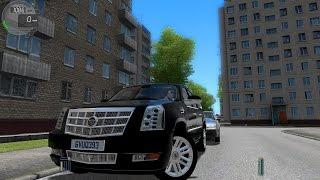 getlinkyoutube.com-City Car Driving 1.5.0 Cadillac Escalade ESV [Logitech G27]