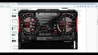 getlinkyoutube.com-Как разогнать видеокарту с помощью MSI Afterburner